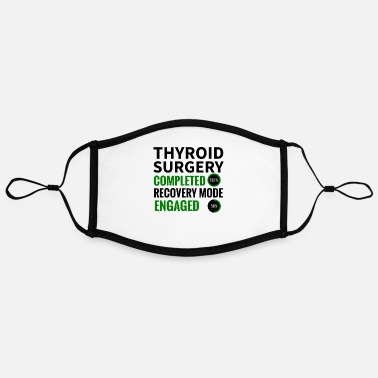 Op Thyroid surgery | Good improvement thyroid gland - Contrast mask, adjustable (large)