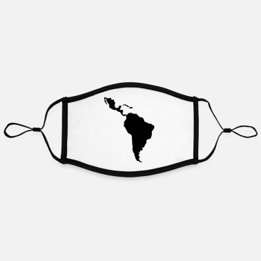 Latin America South Latin america - Contrast mask, adjustable (large)