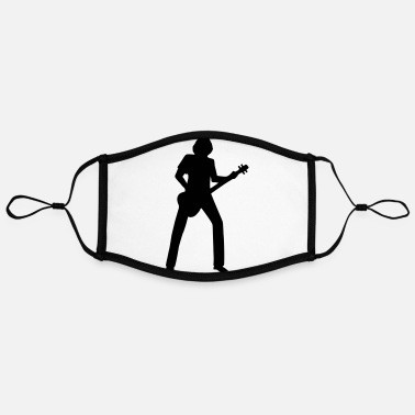 Bassist bassist - Contrast mask, adjustable (large)