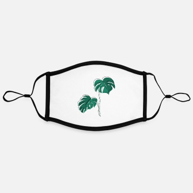 Leaf Monstera, Lineart, plant, Pflanze, Leaf, Minimal - Kontrastmaske, einstellbar (Large)