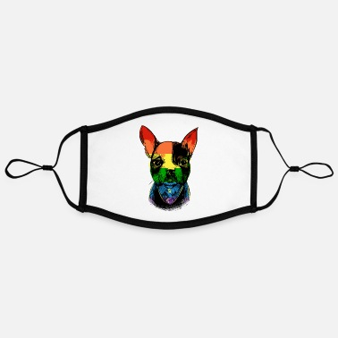 Bulldog French Bulldog - Kontrastmaske, einstellbar (Large)