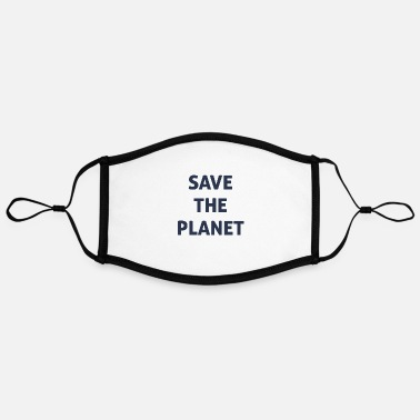 Save The Planet save the planet - Contrast mask, adjustable (large)