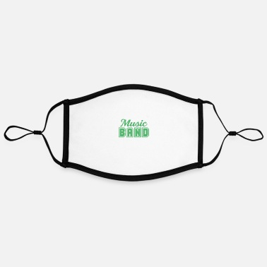 Band Music band band member band band school band - Contrast mask, adjustable (large)