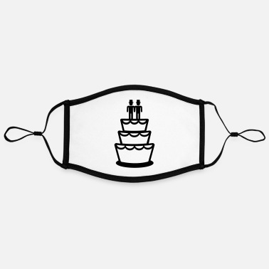 Wedding Cake Wedding cake - Contrast mask, adjustable (large)