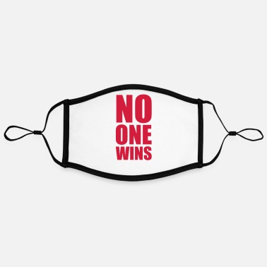 Wordplay Relationship Provoking no one wins - Contrast mask, adjustable (large)
