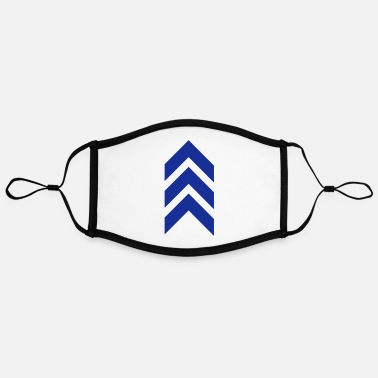 Arrow, military, army, insignia, feather, symbols - Contrast mask, adjustable (large)