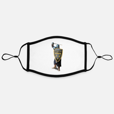 genealogical knight 2021 - Contrast mask, adjustable (large)
