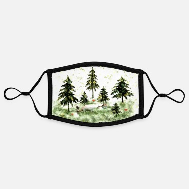 In the fir forest - Contrast mask, adjustable (small)