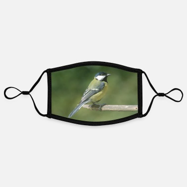 Tit Great tit - Contrast mask, adjustable (small)