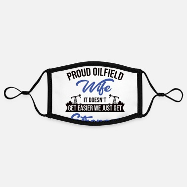 Oilfield OILFIELD: Oilfield Wife - Contrast mask, adjustable (small)