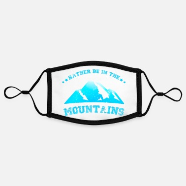 Alps Mountains Mountains mountaineering Alps - Contrast mask, adjustable (small)