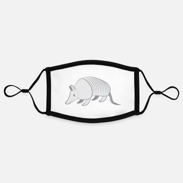 Grey GREY armadillo - Contrast mask, adjustable (small)
