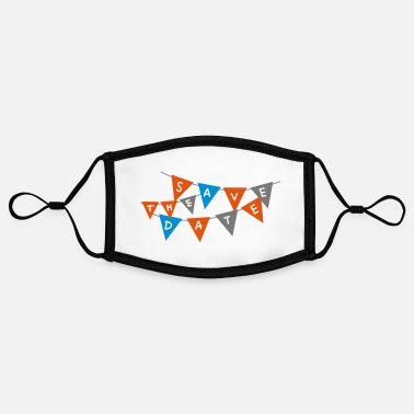 Pennant pennant - Contrast mask, adjustable (small)