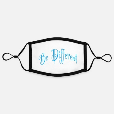 Different Be different or different - Contrast mask, adjustable (small)