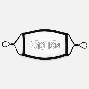 Emotion emoTion - white - Kontrastmaske, einstellbar (Small)