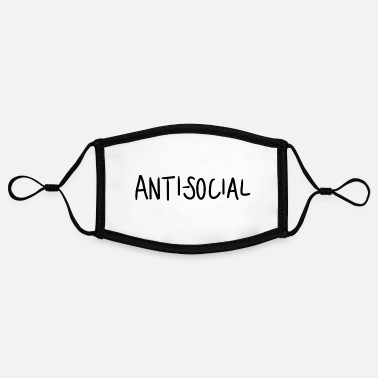 Anti-social anti social - Contrast mask, adjustable (small)