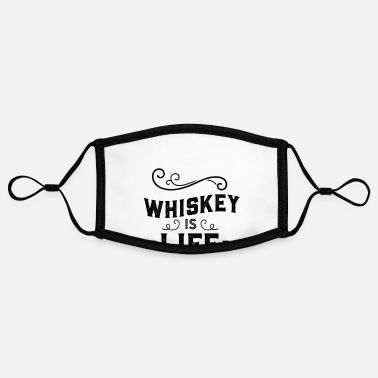 Whiskey Whiskey Whiskey Whiskey Whiskey - Contrast mask, adjustable (small)
