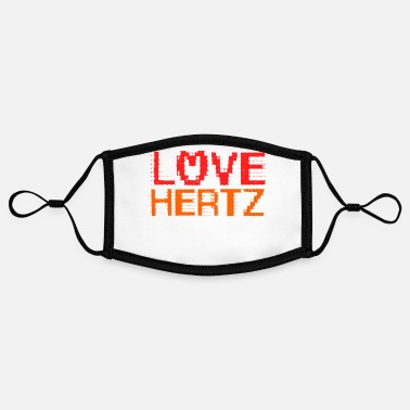 Intensified Course Love Hertz - physics physicist studies teacher - Contrast mask, adjustable (small)