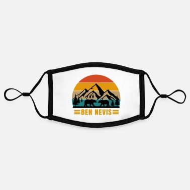 Alps ben nevis - Contrast mask, adjustable (small)