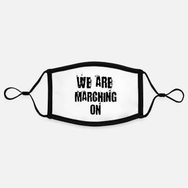 Streetpunk We are marching on - Contrast mask, adjustable (small)