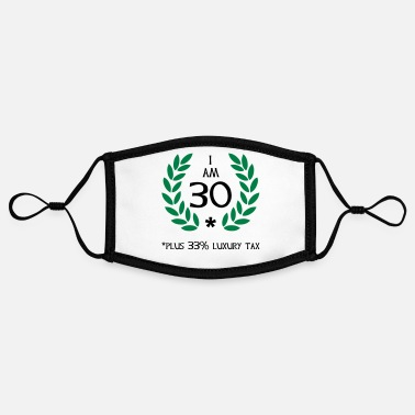 Amazing 40 - 30 plus tax - Contrast mask, adjustable (small)