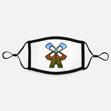 windmill - Contrast mask, adjustable (small)