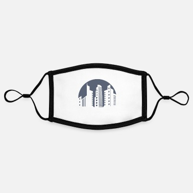 Metropolis City city skyscraper metropolis - Contrast mask, adjustable (small)
