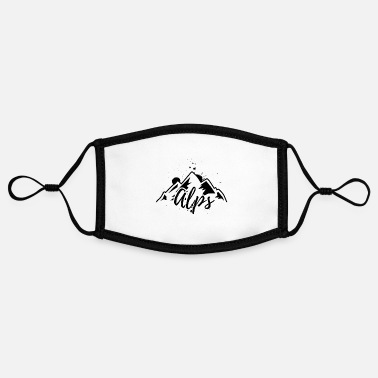 Alps Alps - Contrast mask, adjustable (small)
