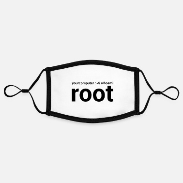 Your Computer whoami root admin gift - Contrast mask, adjustable (small)