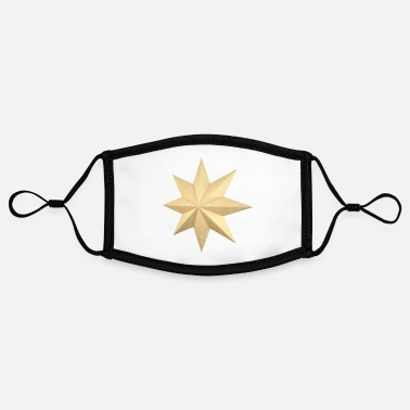 Eight Points Golden 3d star - Contrast mask, adjustable (small)