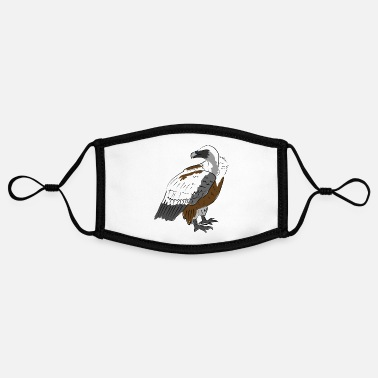 Vulture vulture - Contrast mask, adjustable (small)