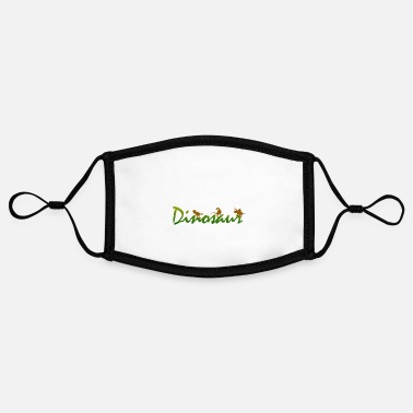 Dinosaur Dinosaur - dinosaurs - Contrast mask, adjustable (small)