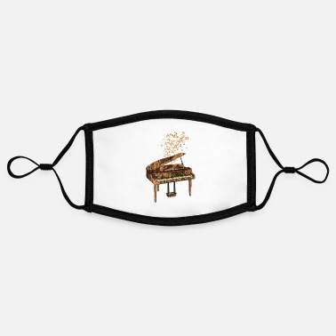 Rock Piano classical music - Contrast mask, adjustable (small)