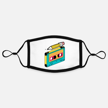 Cassette Tape CASSETTE TAPE + PENCIL - Contrast mask, adjustable (small)