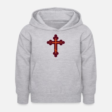 Orthodox cross orthodox - Kids Hoodie