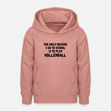 Volley-ball Volleyball - Volley Ball - Volley-Ball - Sport - Sudadera con capucha para adolescentes