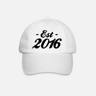 Established established 2016 - Baseball Cap