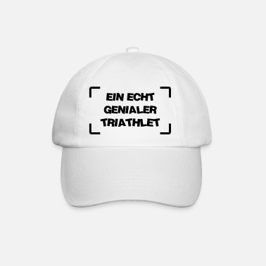 Triathlet Triathlon / Triathlet / Triathletin / Schwimmer - Baseball Cap