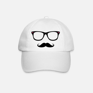 I love moustache hype - Casquette baseball