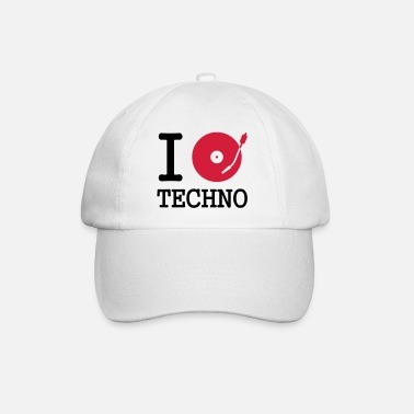 Music I dj / play / listen to techno - Baseball Cap