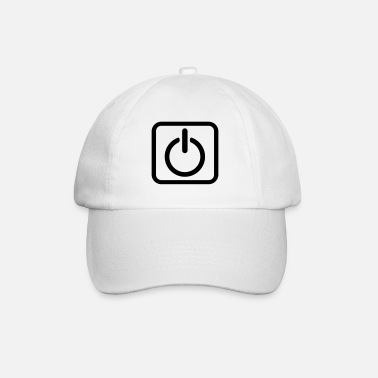 Key Button Power Button Start Key power button icon button - Baseball Cap