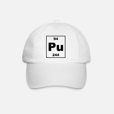 Plutonium Plutonium (Pu) (element 94) - Baseball Cap