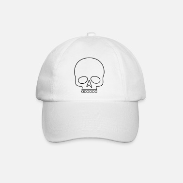 Outline Totenkopf Outline / Skull outline - Baseball Cap