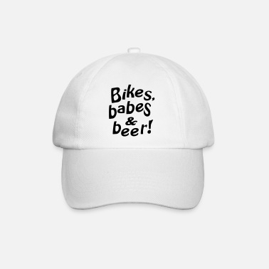 Babe bikes babes beer - Casquette baseball