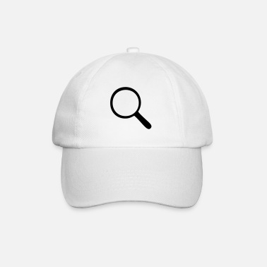 Magnifying Glass Magnifying glass - magnifier - Baseball Cap