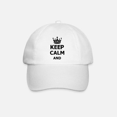 Keep Calm keep calm - Casquette baseball