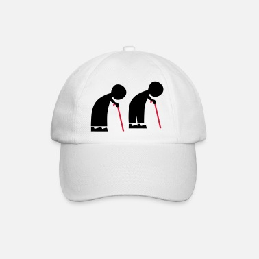 Old People old people - Baseball Cap