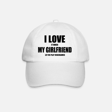 Game girlfriend video games nerd - Baseball Cap