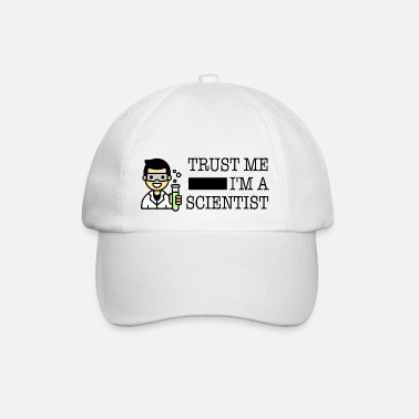 Trust me I'm a scientist male Asian - Baseball Cap