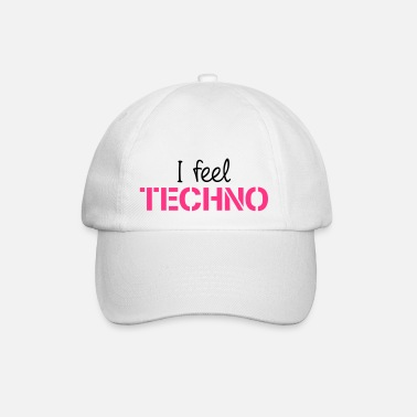 Trance I Feel Techno - Baseball cap